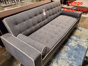 NEW IN THE BOX. SPL SOFA BED / FUTON WITH PILLOWS, GRAY, SKU# TC7567S for Sale in Garden Grove, CA
