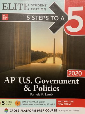 AP Government and Politics Book for Sale in Washington, DC