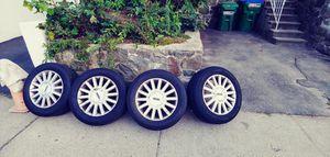 225 60 r17 4 rims 4 tire 04 Lincoln town car for Sale in Boston, MA