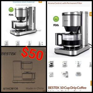 BESTEK 10 CUP DRIP COFFEE MAKER NEW for Sale in Anaheim, CA