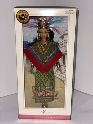 Princess of Ancient Mexico - Dolls Of The World - Pink Label for Sale in Plano, TX