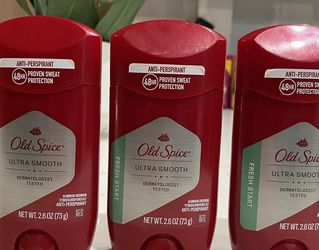 Old Spice Anti-Perspirant, Ultra Smooth, Fresh Start - 2.6 oz for Sale in Los Angeles,  CA