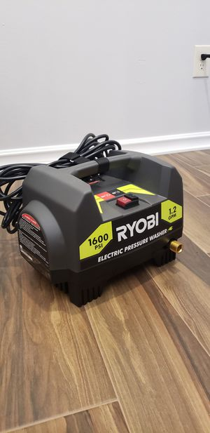 Ryobi 1600 psi electric pressure washer (unit only no gun hose or nozzles) for Sale in San Diego, CA