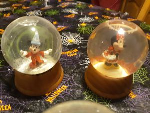 Disney snow globes for Sale in New Port Richey, FL