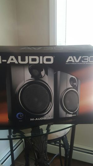 M Audio Speakers for Sale in Bellingham, MA