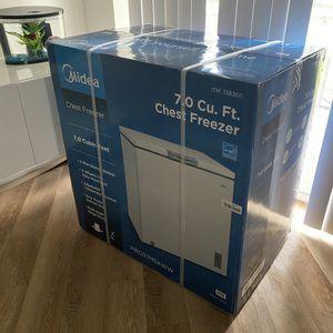 Chest Freezer 7Cu NEW for Sale in Boca Raton, FL