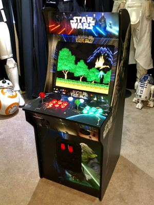 """Arcade 1Up Clone 19"""" monitor 7000 games lit marquee for Sale in Las Vegas, NV"""