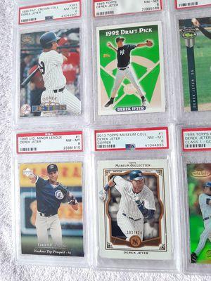 New York Yankees Derek Jeter 11 Cards PSA Lot for Sale in Kissimmee, FL