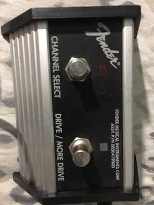 Fender Footswitch for sale | Only 4 left at -65%