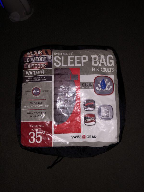 Wenger Sleeping Bag - Red