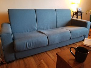 Convertible sleeper sofa. -$10! for Sale in Denver, CO