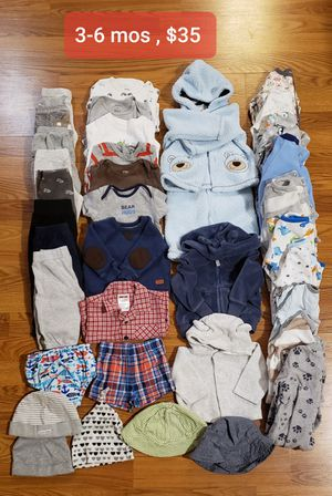 Baby boy clothes 3-6 mos for Sale in Lakewood, CO