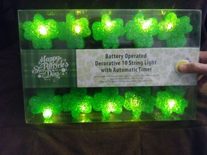 St Patrick's lucky lights for Sale in Federal Way, WA