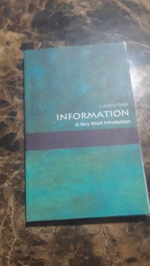 information a very short introduction for Sale in Tampa, FL
