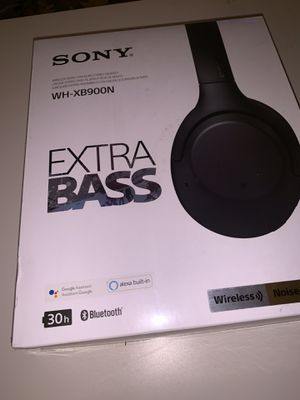 SONY WH-XB900N Extra Bass Wireless Headphones for Sale in Columbia, MD