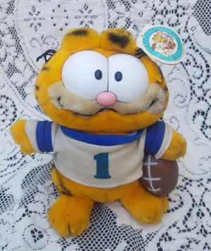 Vintage Garfield Football Plush from the 70s for Sale in Phoenix, AZ