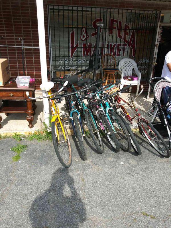 Boys and girl bikes