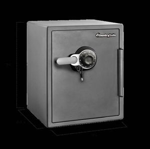SENTRYSAFE SFW123DSB FIRE SAFE 1.23 CU FT, GRAY for Sale in Overgaard, AZ