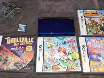 Nintendo DS With 5 Games Mario And More for Sale in West Valley City,  UT