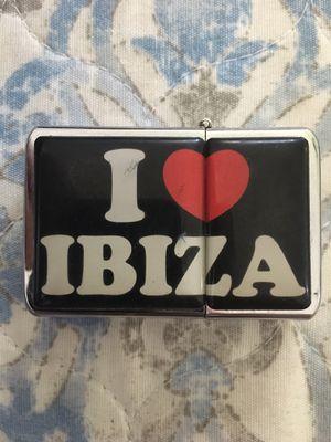 """Zippo Lighter """"I LOVE IBIZA"""" for Sale in Pompano Beach, FL"""