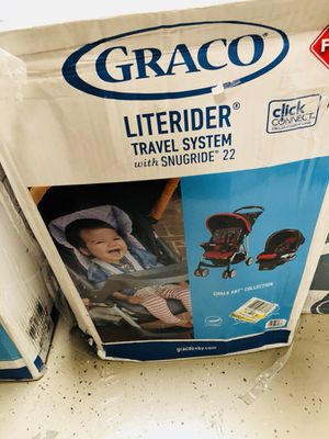 Graco literider stroller w/ car seat for Sale in Las Vegas, NV
