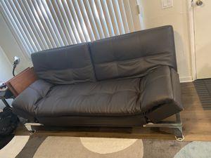 Dark Brown Costco Futon for Sale in Irwindale, CA