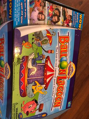 Balloon Lagoon by cranium - four carnival games - ages 5 and up for Sale in AZ, US