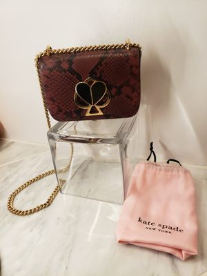 Kate Spade Snake Print Crossbody Purse for Sale in Chicago, IL