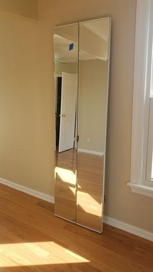 closet folding mirror doors for Sale in Burlington, NJ