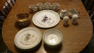 Snowman Dish Set for Sale in OH, US