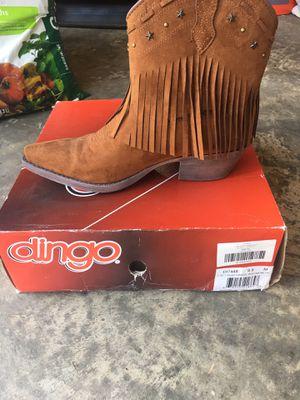 Dingo star fringe cowboy boots for Sale in Wesley Chapel, NC