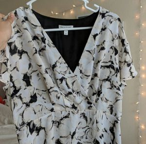 Prologue Black and White Dress (Medium) for Sale in Fairfax, VA