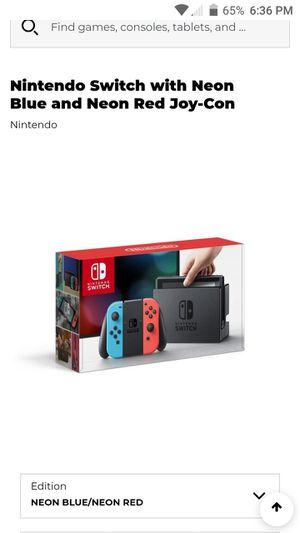 Nintendo switch for Sale in Aurora, IL