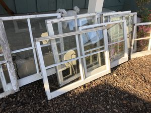 Wood windows/vintage for Sale in West Covina, CA