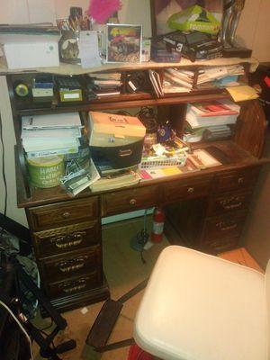 Desk roll top for Sale in Mannington, WV