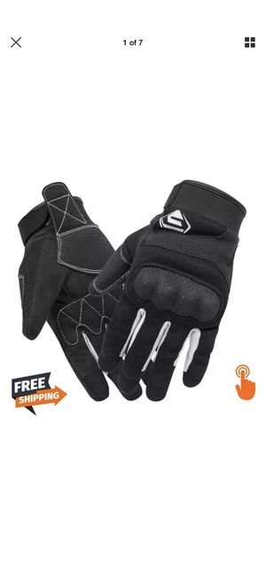 Mens Racing Gloves Motorbike Touch Screen Motocross Full Finger Gloves for Sale in Brooklyn, NY