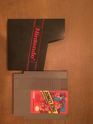 Nintendo nes donkey Kong classics for Sale in Visalia, CA