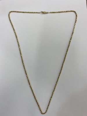 "14k Yellow Gold Rope Chain 25"" 12.7 grams for Sale in San Diego, CA"
