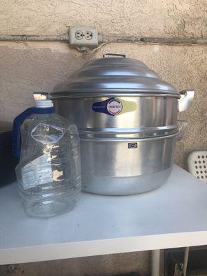 3-piece steamer pot for Sale in Santa Ana, CA