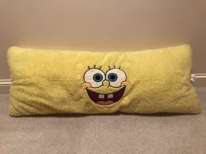 Spongebob Body Pillow Plushie for Sale in Great Falls, VA