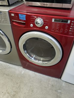 LG RED GAS DRYER for Sale in Modesto, CA