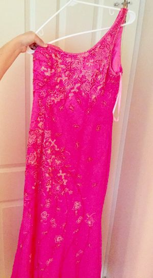 Bright pink prom dress for Sale in Kent, WA