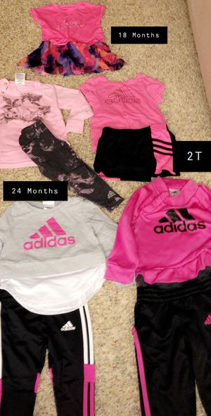 Adidas Girls Outfits Like New 18M-2T for Sale in West Bloomfield Township, MI