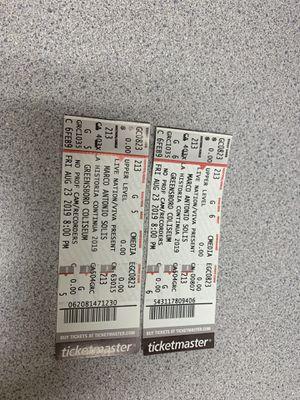 Marco Antonio Solis Tickets for Sale in Clayton, NC