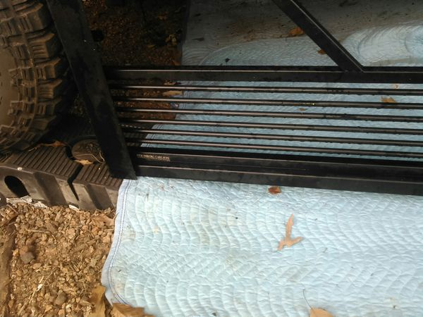 Cut out tail gate for camper and horse trailers fits Dodge ram