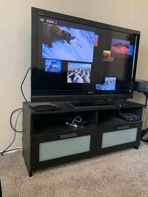 TV w/Entertainment Center for Sale in Benbrook, TX