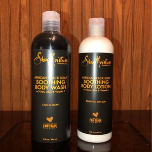 All Brand NEW! 🎇 Shea Moisture brand Body Care Products - African Black Soap (PENDING PICK UP TODAY) for Sale in Chesapeake, VA