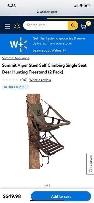 Hunting tree stand for Sale in Dillsburg, PA