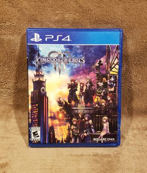 KINGDOM HEARTS III (2019 PS4)*LIKE NEW*SONY* KH3 KHIII for Sale in Tucson, AZ