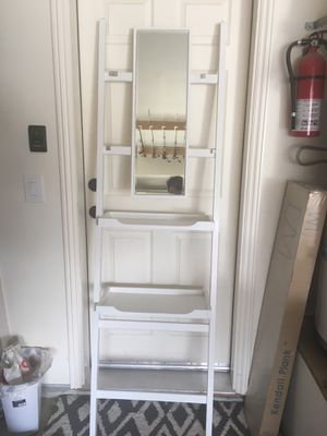 Pottery Barn Mirror Stand With Shelves For In Fairfield Ca